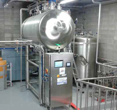 Actini Cyclobatch Decontamination System